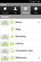 Screenshot of iUsask