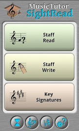 Music Tutor Sight Read Screenshot 1