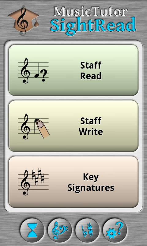 Music Tutor Sight Read - screenshot