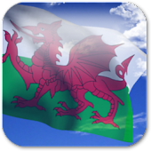 3D Welsh Flag Live Wallpaper +