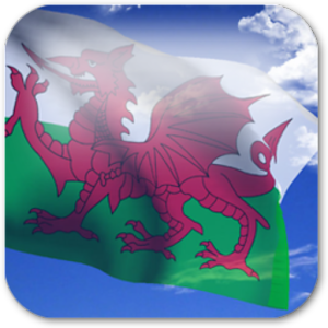 3D Welsh Flag +