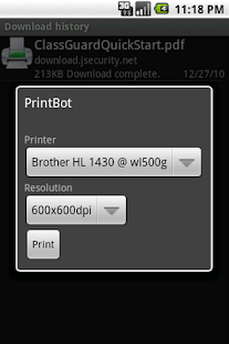 PrintBot- screenshot thumbnail