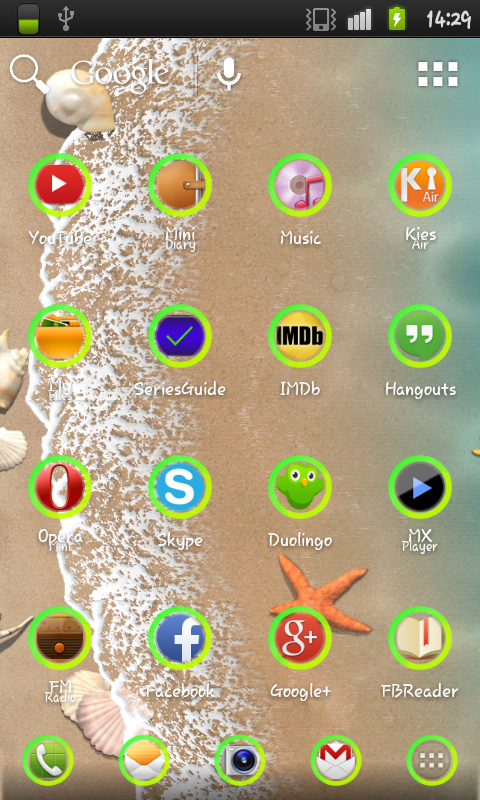 Green Hole Icon Pack- screenshot
