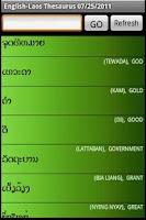 Screenshot of Speak Laos by Metsoft