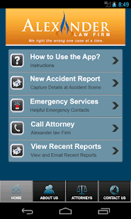 Accident App by Alexander Law- screenshot thumbnail