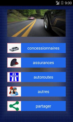 Contacts Automobiliste Maroc
