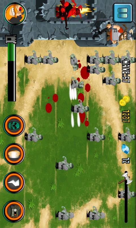 Zombie Defense - Zombie Game- screenshot