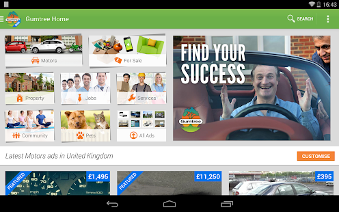Gumtree Beta - screenshot thumbnail
