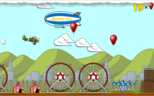 Pop balloons in Plane Popper!- screenshot thumbnail