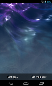 LiquidLight Sea Live Wallpaper screenshot 1