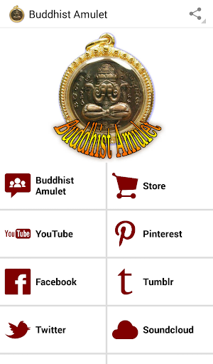 Religious Thai Buddhist Amulets - Index Page