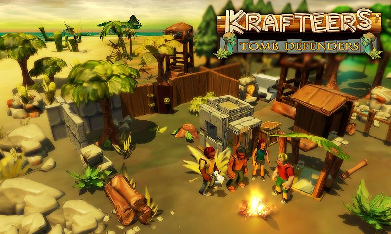 Krafteers - Tomb Defenders- screenshot