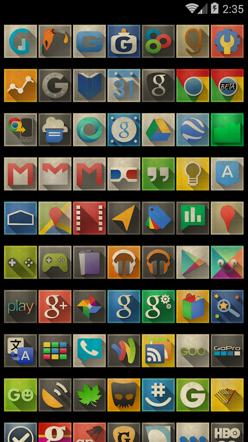 Axis - GO Apex Nova Theme - screenshot
