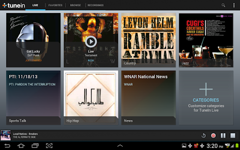 TuneIn Radio Pro - Android Apps on Google Play