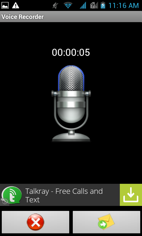 Voice Messenger Pro- screenshot