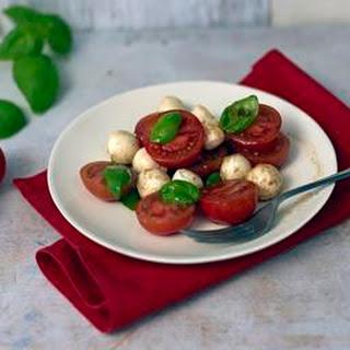 Cherry Tomato And Mozzarella Salad.