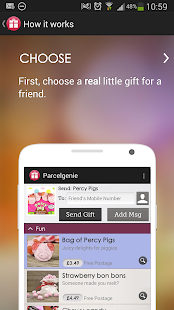 Parcelgenie screenshot
