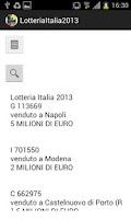 Screenshot of Lotteria Italia 2015
