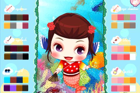 Dress up Cute Mermaid Princess
