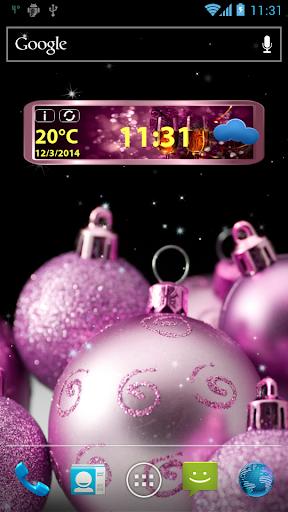 玩免費天氣APP|下載新年时钟和天气小工具 app不用錢|硬是要APP