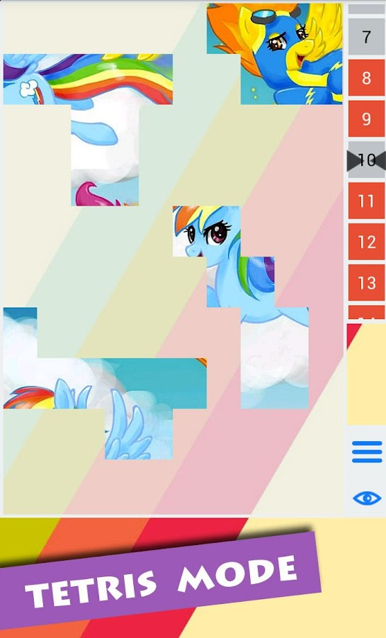 My Little Pony Puzzle Game - screenshot