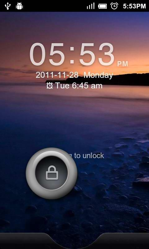 GO Locker Sense Theme - screenshot