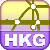 Hong Kong Transport Map - Free