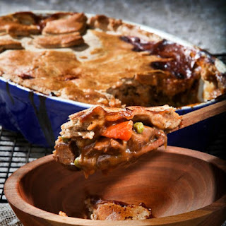 Beef And Bourbon Pie