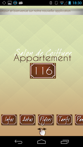 Salon Coiffure Appartement 116