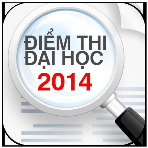 Diem thi Dai hoc Cao dang 2014 LOGO-APP點子