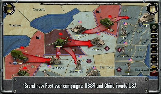 Strategy & Tactics:USSR vs USA Screenshot 22