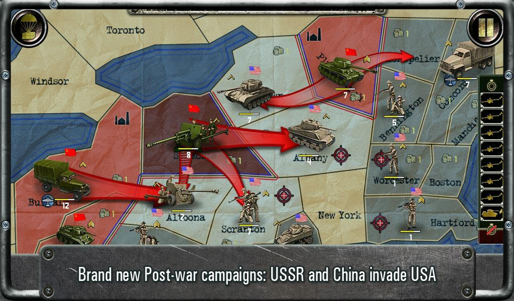 Strategy & Tactics:USSR vs USA - screenshot