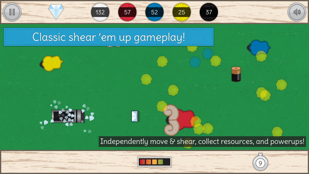Sheared - screenshot