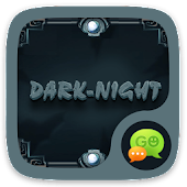 (FREE) GO SMS DARKNIGHT THEME