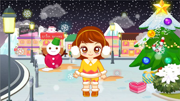 Screenshot of Judy's Winter Walks-Dress Up