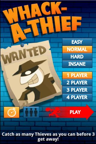 Whack-A-Thief - screenshot