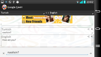 Screenshot of Çeviri programı