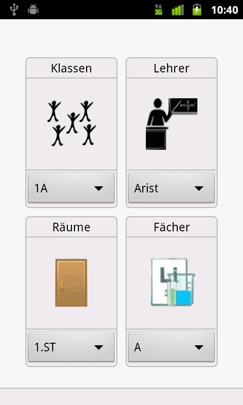 SchoolPlanner4Untis- screenshot