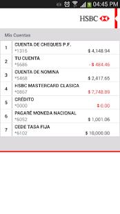 HSBC Móvil- México - screenshot thumbnail