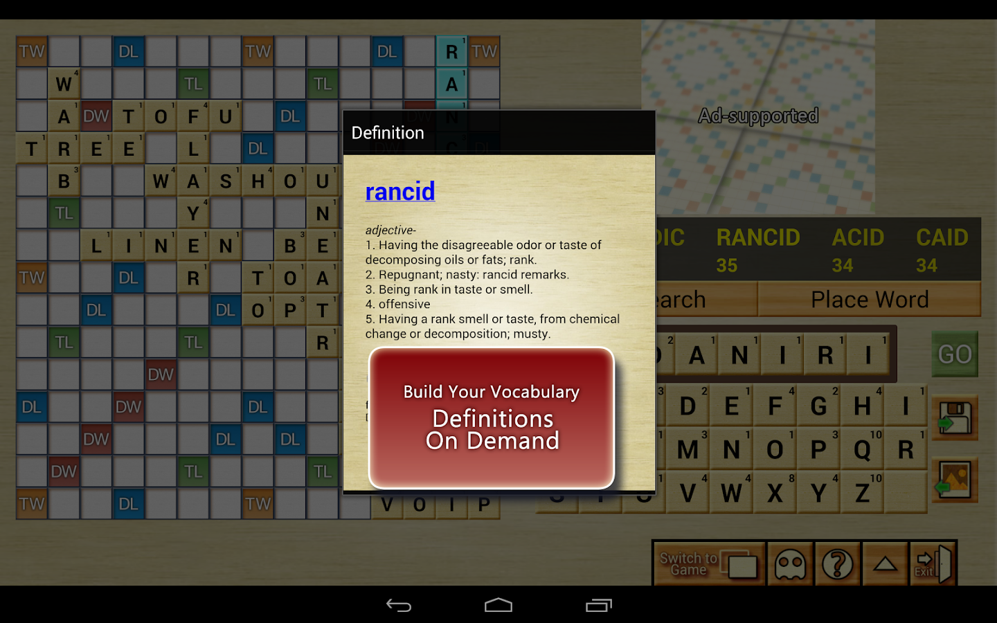 Word Breaker (Words Cheats) - screenshot