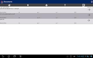 Screenshot of uniFLOW