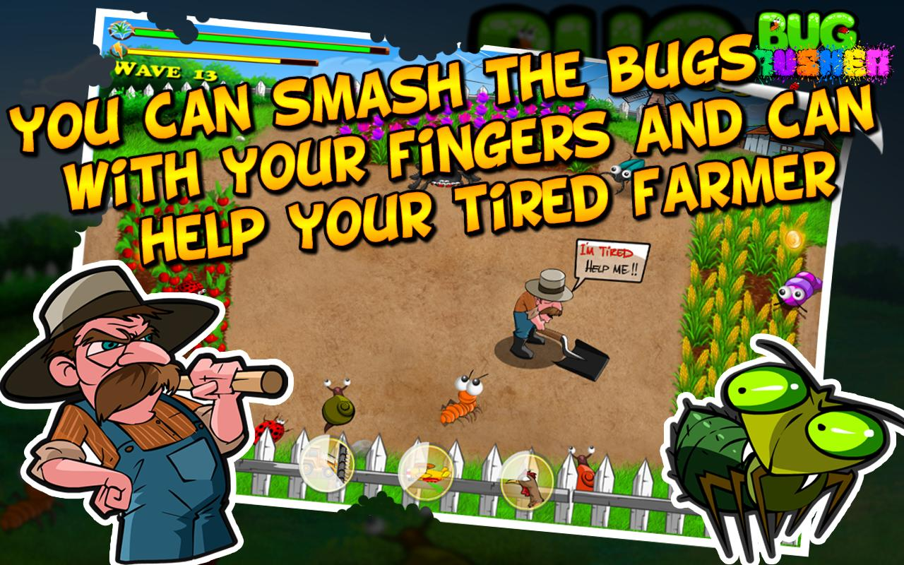 Bug Crusher, Best cool Game - screenshot