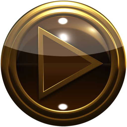 لالروبوت gold brown poweramp skin تطبيقات