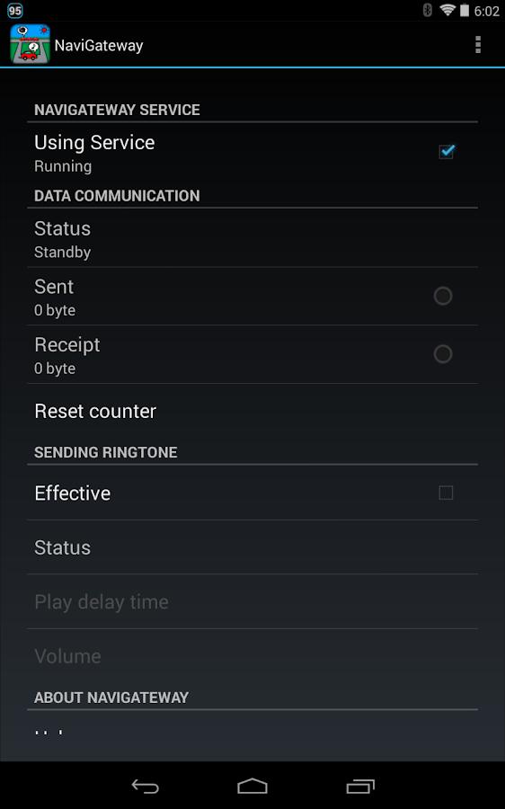 NaviGateway- screenshot