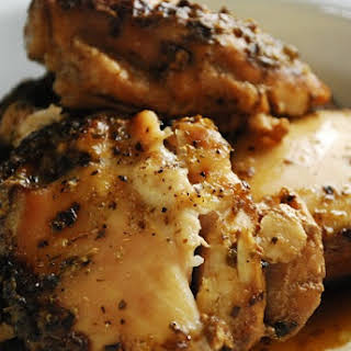 Crock Pot Beer Chicken.