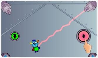 Screenshot of Dancing Space Dog