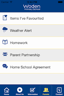 Woden Primary School- screenshot thumbnail