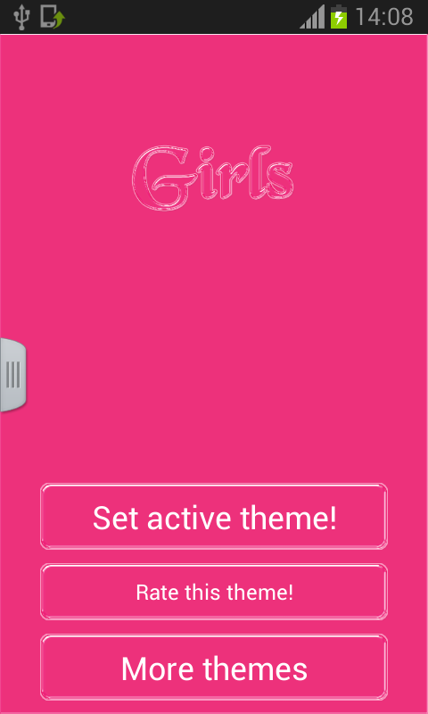 Keyboard for Girls - screenshot