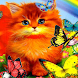 Kitty Rainbow Live Wallpaper