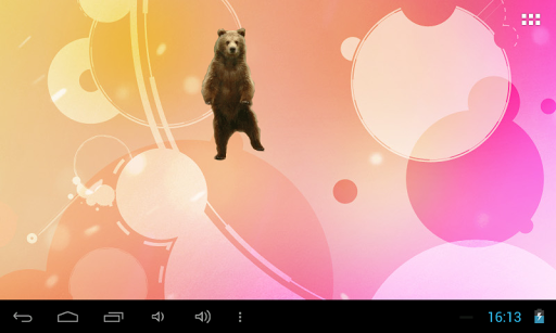 Танцующий медведь widget